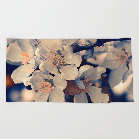 Almond bloom(2) Beach Towel