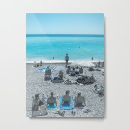 French Summer in Nice, South of France Art Print | Travel Photography Metal Print