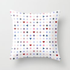 Arcade Pattern Throw Pillow