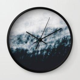 Abstract #fog Wall Clock
