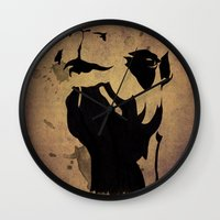 camel Wall Clocks featuring camel by Mono Ahn