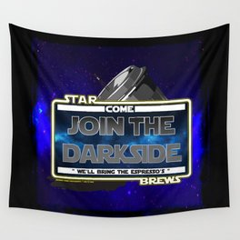 Come to the Darkside, The Coffee Wars, Jeronimo Rubio, Photography, Art 2016 Wall Tapestry