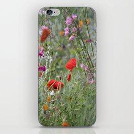 Meadow Flowers iPhone Skin