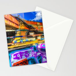 Leake Street and Police Car Stationery Cards