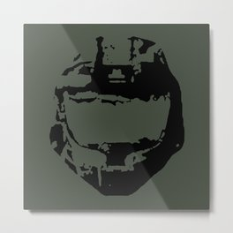 Spartan Dome Piece Metal Print