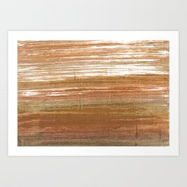 Coconut abstract Art Print