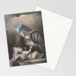 Religion. Mary & Child Stationery Cards