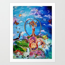 Anthropocosm Art Print