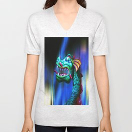 Dragon Dreaming Unisex V-Neck