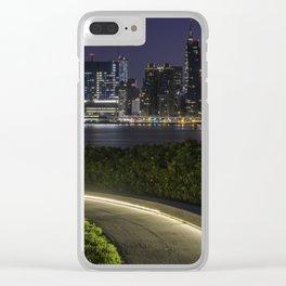 Midtown Manhattan skyline Clear iPhone Case