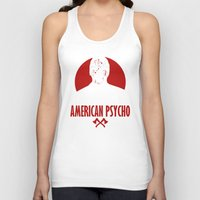 american psycho Tank Tops featuring American Psycho by Buby87