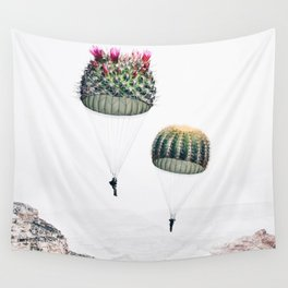 Flying Cacti Wall Tapestry