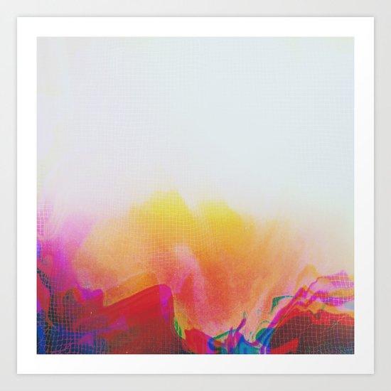 Glitch 20 Art Print