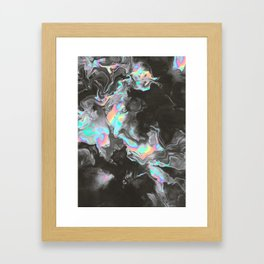 SPACE & TIME Framed Art Print