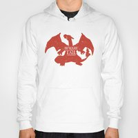 charizard Hoodies featuring House Charizard by Alecxps