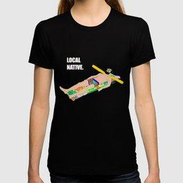 Local Native - Music Inspired Fan Art Digital Drawing T-shirt