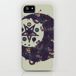 The Dark Moon Compels You to Fuck Shit Up iPhone Case