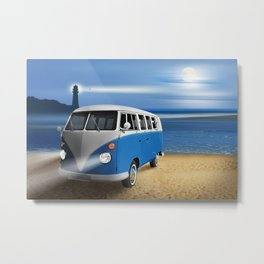 Blue ... beach ... bulli Metal Print