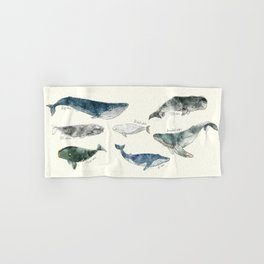 Whales Hand & Bath Towel