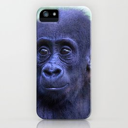 CArt Gorilla Baby iPhone Case