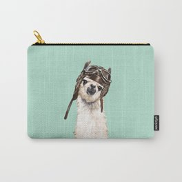 Cool Pilot Llama Carry-All Pouch