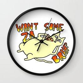 Za Cat Wall Clock