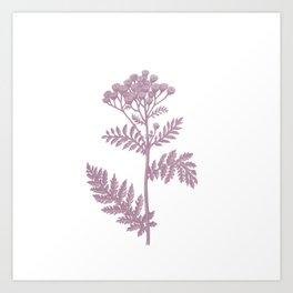 pink flower 1 . Art Print
