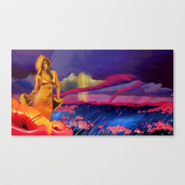 The Great Undoing Canvas Print