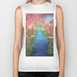 Blossoms in the Spring Biker Tank