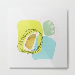 Modern minimal forms 48 Metal Print