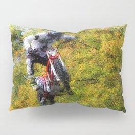 Extreme Biker - Dirt Bike Rider Pillow Sham