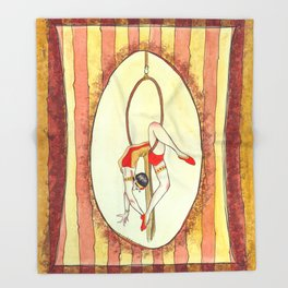 C is for Circus Throw Blanket