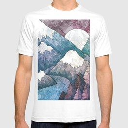 A cold river canyon T-shirt