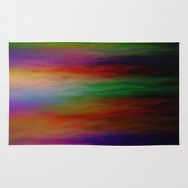 Rainbow Flames Rug