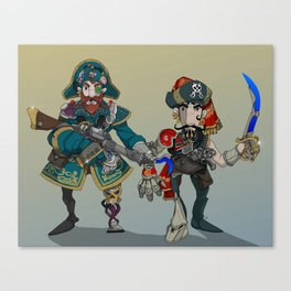 Space Pirates. Canvas Print