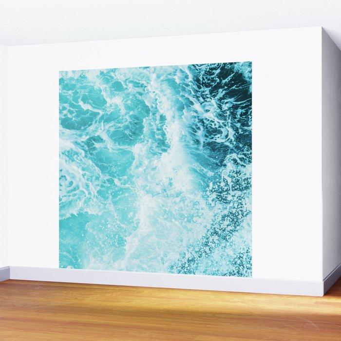 Perfect Sea Waves Wall Mural