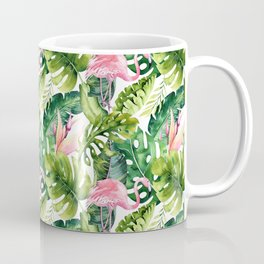 Flamingo Tropical    #pattern #tropical Coffee Mug