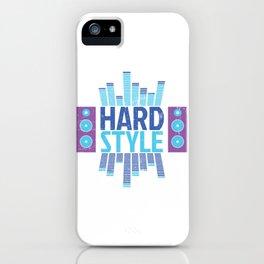 Hardstyle Equalizer | Electro Techno Party iPhone Case