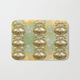 The Joy of Christmas - Gold Bath Mat