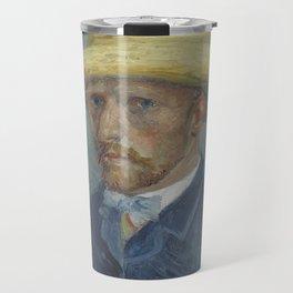 Portrait of Theo van Gogh Travel Mug