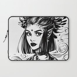 Witch Demoness Laptop Sleeve
