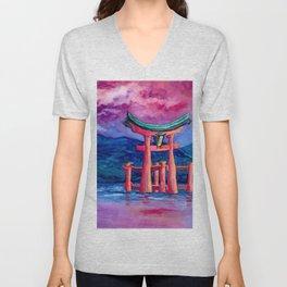 Tōri-iru Unisex V-Neck