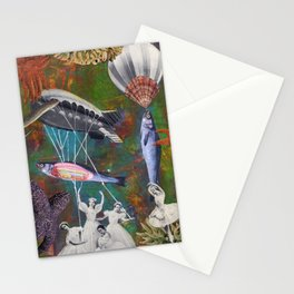 Underwater ballet Stationery Cards