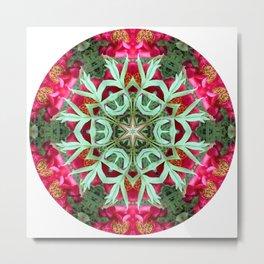 Peony Rose Florii Metal Print