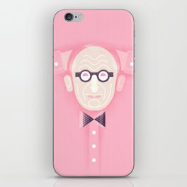 An illustrated celebration of Wally Olins CBE 1930 - 2014 iPhone Skin