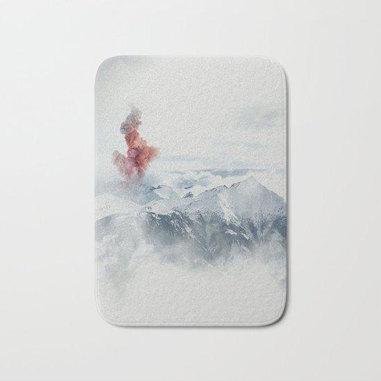 Beautiful Volcano Bath Mat