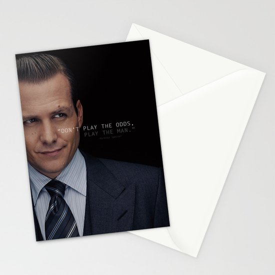 Harvey specter play the man stationery cards by chrissyonahype harvey specter play the man stationery cards by chrissyonahype society6 colourmoves