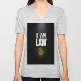 I Am the Law - Judge Dredd Unisex V-Neck
