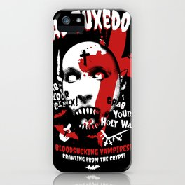 Bloodsucking Vampires - Black iPhone Case