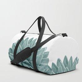 Green Agave Chic #1 #succulent #decor #art #society6 Duffle Bag